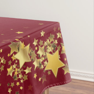 "Holiday Stars Tablecloth ""60x84"""