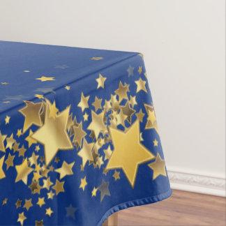 "Holiday Stars Tablecloth ""60x84""-Royal Blue"