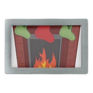 Holiday Stockings Belt Buckles