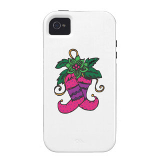 Holiday Stockings Vibe iPhone 4 Cases
