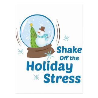 Holiday Stress Postcard