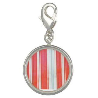 Holiday Stripes Charm