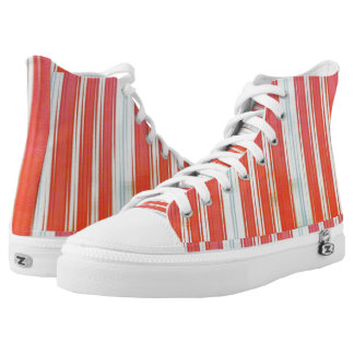 Holiday Stripes High Tops