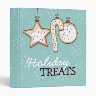 Holiday Sugar Cookie Trio Treats Recipe Binder