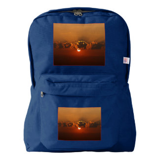 Holiday Sunset Backpack