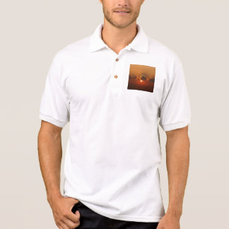 Holiday Sunset Polo Shirt
