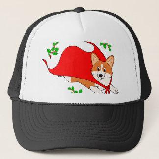 Holiday Super Corgi Trucker Hat