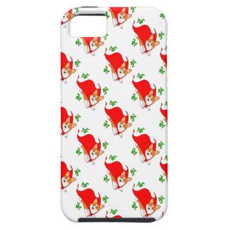 Holiday Super Corgi with Cape iPhone 5 Case