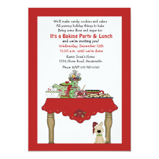 Holiday Table Invitation
