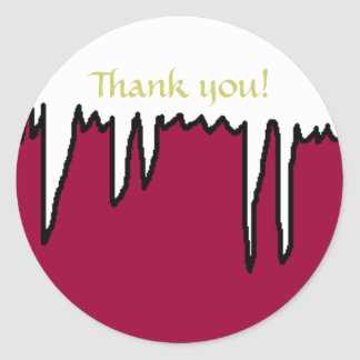 Holiday Thank you!  - stickers
