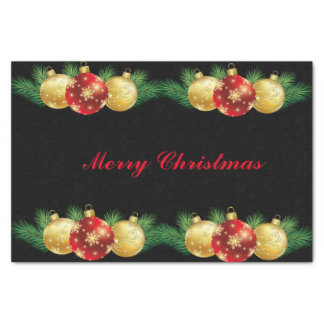Holiday Tissue Paper-Ornamental Garland Tissue Paper