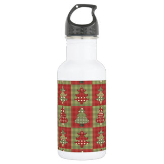 Holiday Traditional Christmas Tree Pattern 532 Ml Water Bottle
