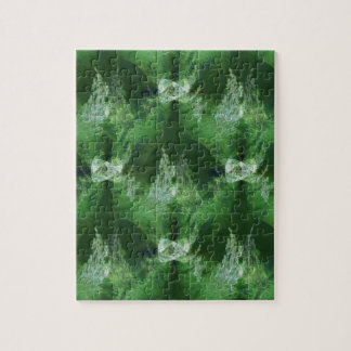 Holiday trees from another galaxy... jigsaw puzzle
