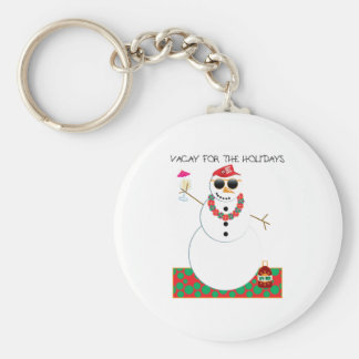 Holiday Vacation Keychain