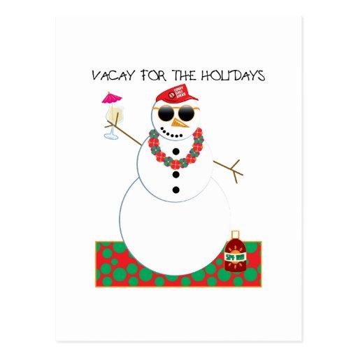 Holiday Vacation Postcard