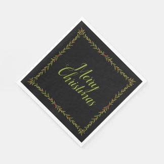 Holiday Vine Napkins Paper Napkins