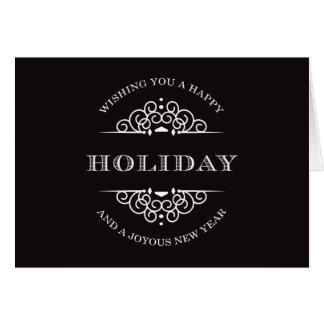 HOLIDAY VINTAGE   HOLIDAY GREETING CARD