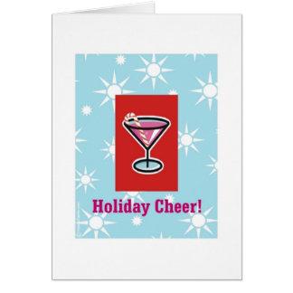 Holiday Vodka Cheer Card