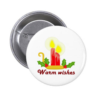 HOLIDAY WARM WISHES PINS