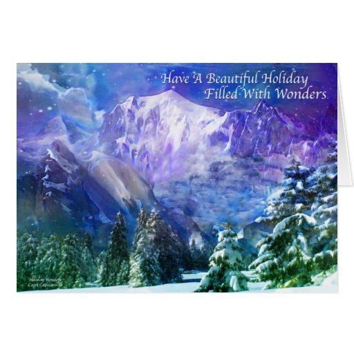 Holiday Wonders Greeting Card