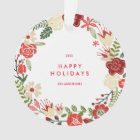 Holiday Wreath | Holiday Ornament
