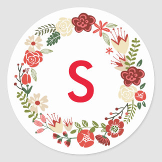 Holiday Wreath   Holiday Stickers