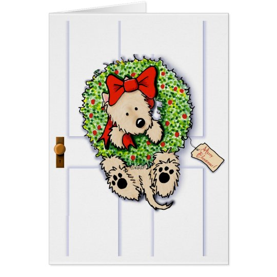 Holiday Wreath Wrangler Card