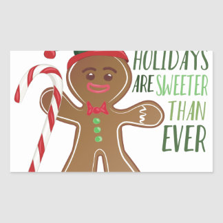 Holidays Are Sweeter Sticker