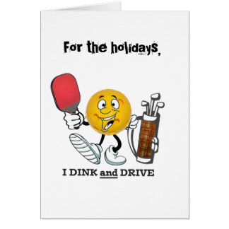 HOlidays...dink & drive Card