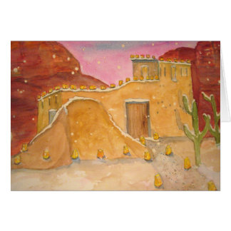 Holidays in Red Rock Country Card