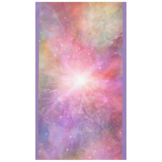 holiES - colorful universe powder clouds Tablecloth