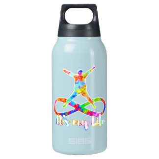 holiES - Lemniscate - It's my Life Person Insulated Water Bottle