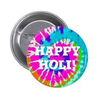 holiES - Power Spiral Batik Style 2 Inch Round Button