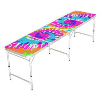 holiES - Power Spiral Batik Style Pong Table