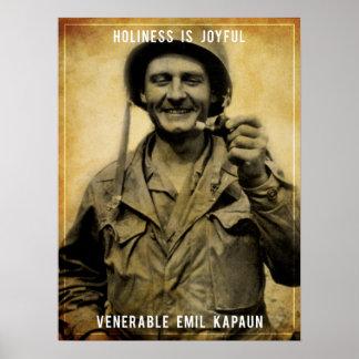 Holiness - Venerable Emil Kapaun Poster