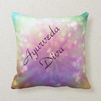 Holistic Ayurveda Diva Throw Pillow