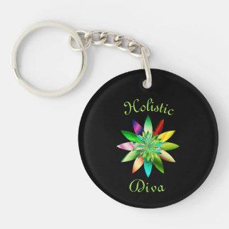 Holistic Diva Keychain