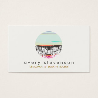 Holistic Health and Healing Arts Sunrise Logo Business Card