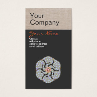 Holistic Profession Business Card