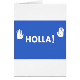 Holla Card