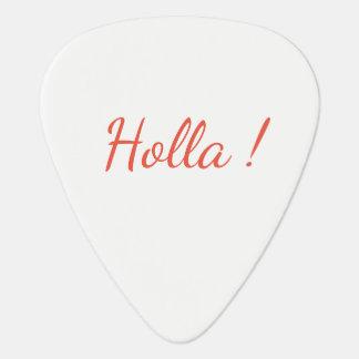 Holla ! Guitar Picks