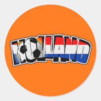 Holland 2010 classic round sticker