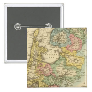 Holland 4 2 inch square button