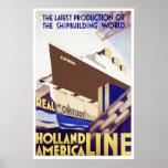 Holland America Line Poster