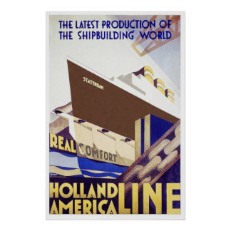 Holland America Line Poster