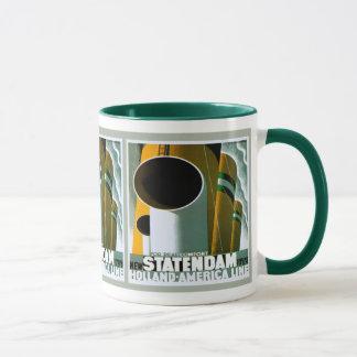 Holland - America Line ~ Ringer Mug