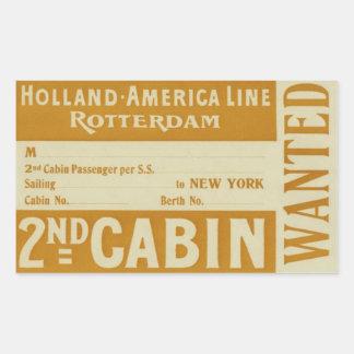 Holland America Line Rotterdam Sticker