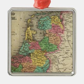 Holland And Belgium Metal Ornament