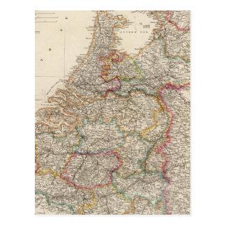 Holland and Belgium Postcard