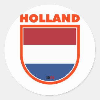 Holland Classic Round Sticker